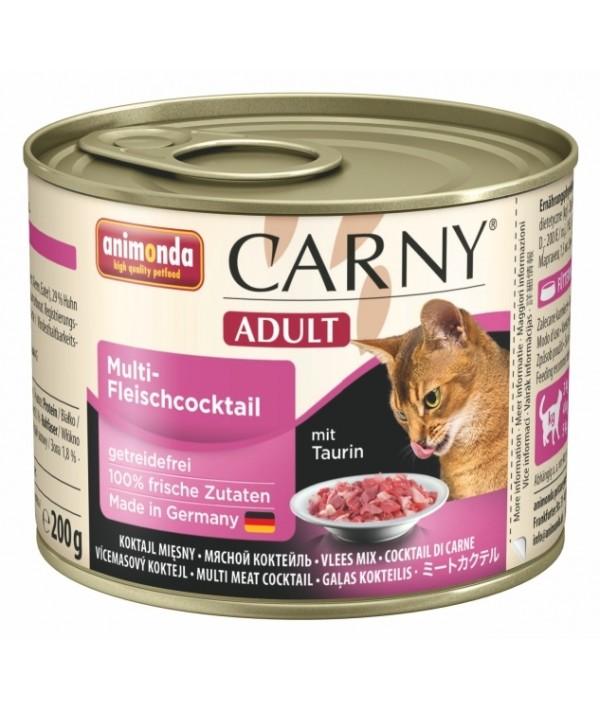 Animonda Carny Adult - karma mokra dla kotów koktajl mięsny 200 g