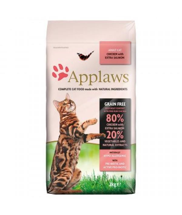 Applaws Chicken & Salmon - karma dla kotów z kurczakiem i łososiem 2 kg