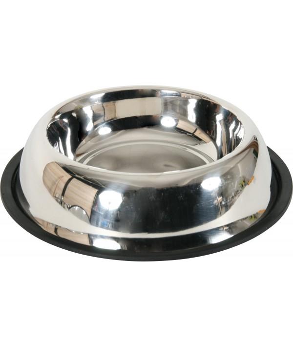 Zolux miska metalowa na gumie 0.3 l (15 cm)