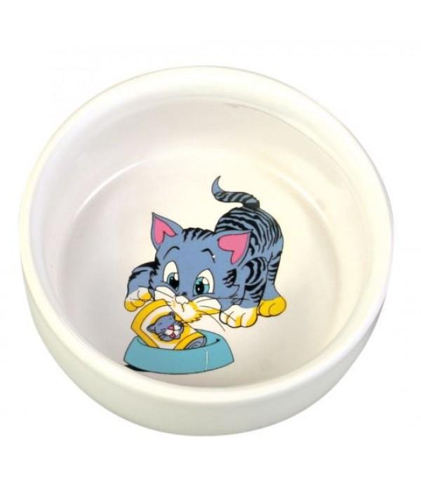 Trixie miska ceramiczna pojedyncza 300 ml