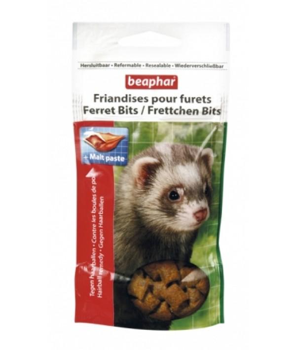Beaphar Ferret Bits - przysmak dla fretek z malt pastą 35 g