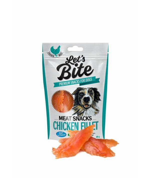 Brit Let's Bite Chicken FIllet - przysmak z kurczaka 300 g