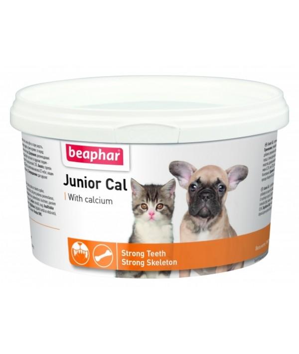 Beaphar Junior Cal - preparat witaminowo-mineralny dla młodych zwierząt