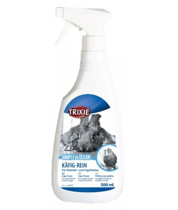 Trixie Simple'n'Clean - spray do czyszczenia klatek 500 ml