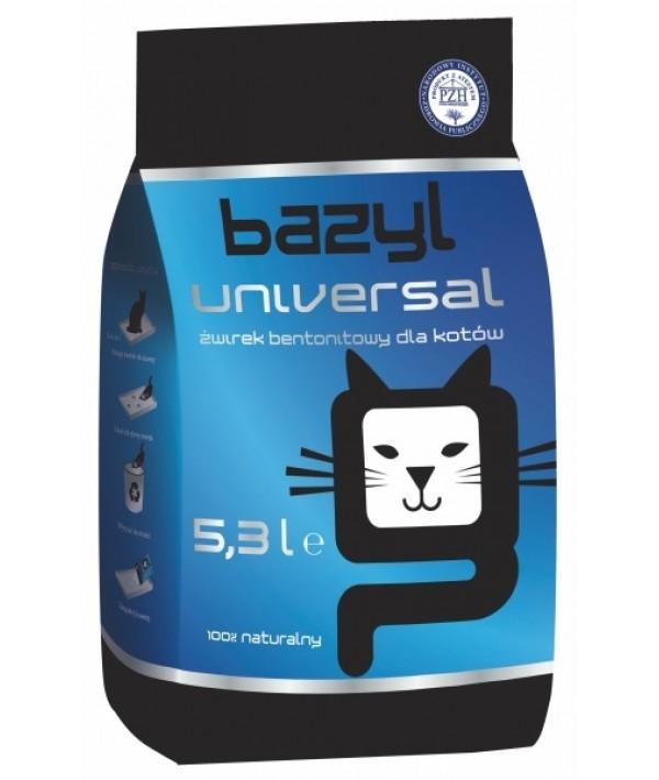 Bazyl Universal - żwirek bentonitowy zbrylający 5,3 l