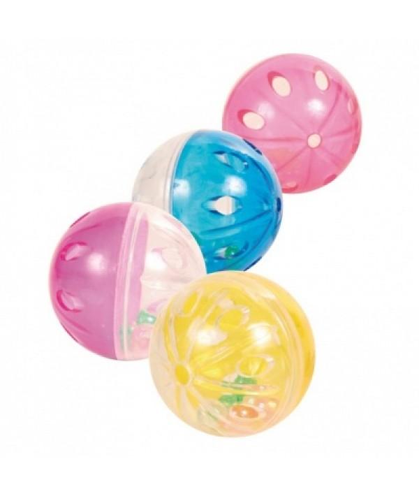 Trixie piłka plastikowa grzechocząca