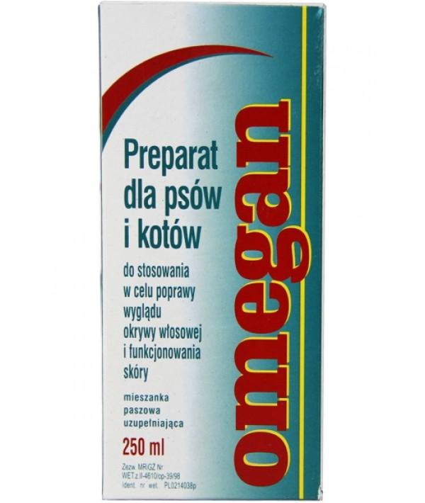 Consrol Omegan - preparat poprawiający wygląd włosów i funkcjonowanie skóry 250 ml